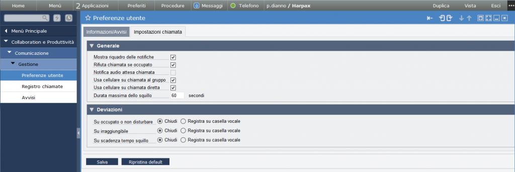Lynfa studio preferenza utente