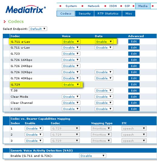 mdx codecs