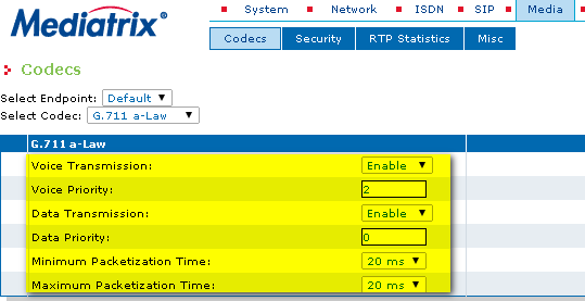 mdx g711