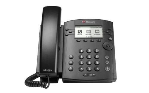 Telefono IP Polycom VVX201